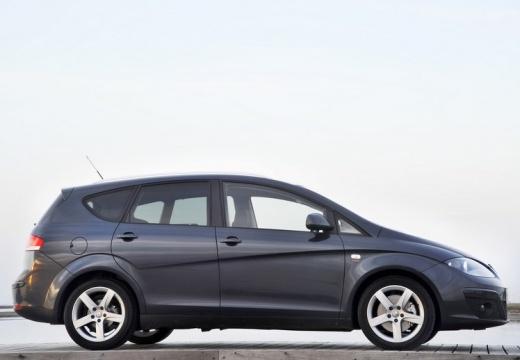 SEAT Altea XL II hatchback czarny boczny prawy