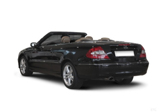 MERCEDES-BENZ Klasa CLK CLK Cabriolet A 209 II kabriolet tylny lewy