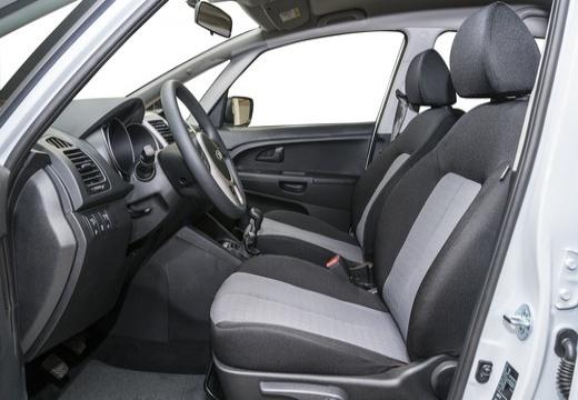 KIA Venga II hatchback wnętrze