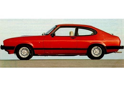 FORD Capri coupe czerwony jasny boczny lewy