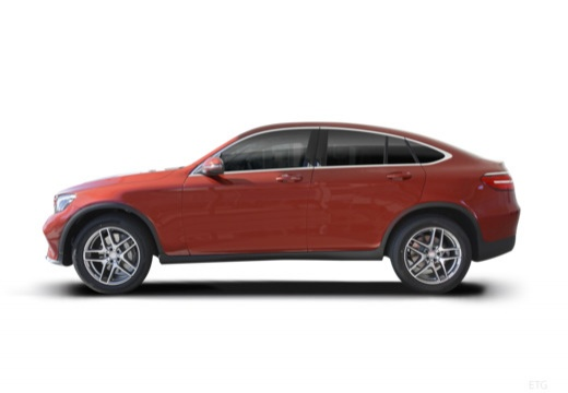 MERCEDES-BENZ Klasa GLC GLC Coupe C 253 I hatchback boczny lewy
