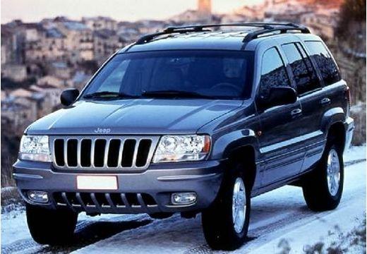 JEEP Grand Cherokee II kombi szary ciemny przedni lewy