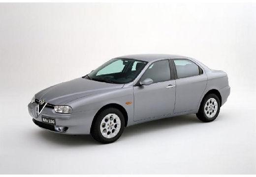 ALFA ROMEO 156 II sedan silver grey przedni lewy