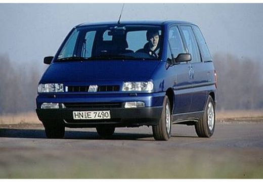 FIAT Ulysse van niebieski jasny przedni lewy