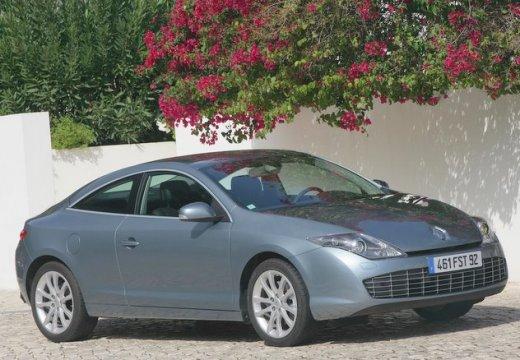 RENAULT Laguna II coupe silver grey przedni prawy