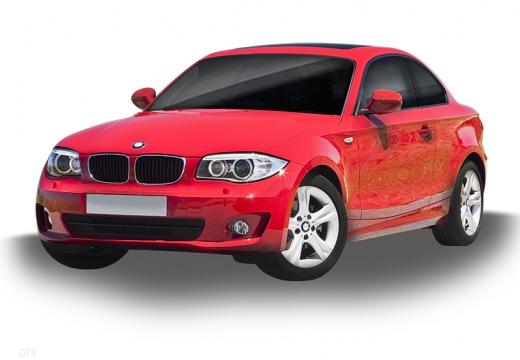 BMW Seria 1 coupe czerwony jasny