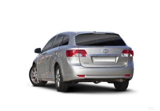 Toyota Avensis VI kombi silver grey tylny lewy