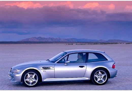 BMW Z3 coupe silver grey boczny lewy