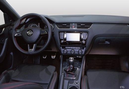 SKODA Octavia III I hatchback tablica rozdzielcza