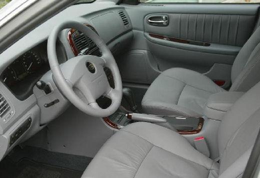 KIA Magentis II sedan silver grey wnętrze