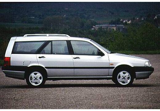 FIAT Tempra kombi silver grey boczny prawy