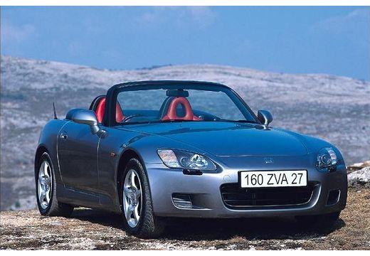 HONDA S 2000 I roadster silver grey przedni prawy