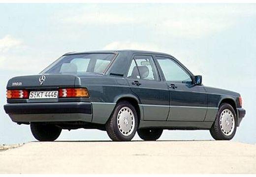 MERCEDES-BENZ 190 W201 sedan szary ciemny tylny prawy