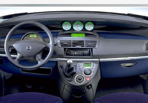 FIAT Ulysse van tablica rozdzielcza