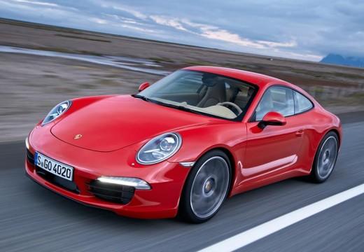 PORSCHE 911 991 I coupe czerwony jasny przedni lewy