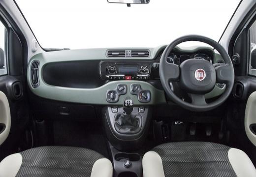 FIAT Panda III hatchback biały tablica rozdzielcza