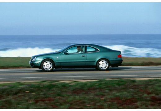 MERCEDES-BENZ Klasa CLK CLK C 208 coupe zielony boczny lewy