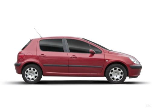 PEUGEOT 307 I hatchback boczny prawy