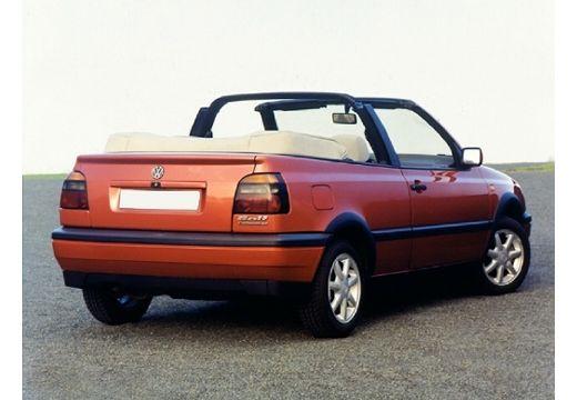 VOLKSWAGEN Golf Cabriolet III kabriolet czerwony jasny tylny prawy