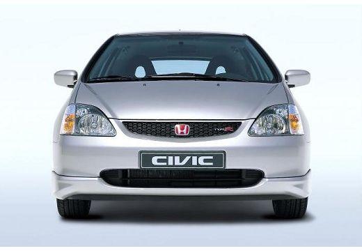 HONDA Civic IV hatchback silver grey przedni