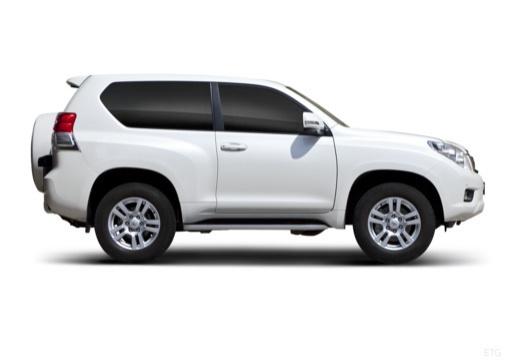 Toyota Land Cruiser 150 I kombi biały boczny prawy