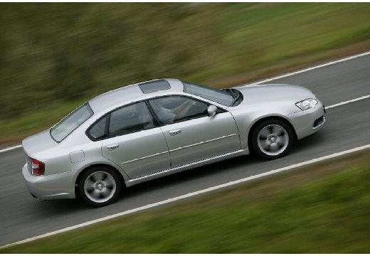 SUBARU Legacy VI sedan silver grey boczny prawy