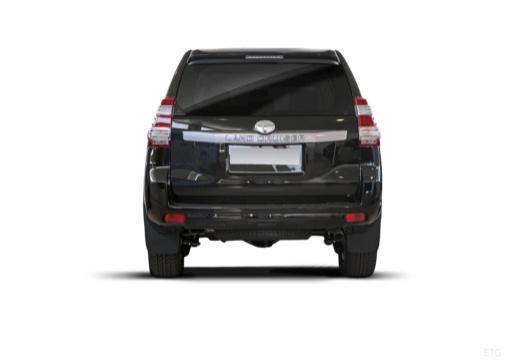 Toyota Land Cruiser 150 II kombi czarny tylny
