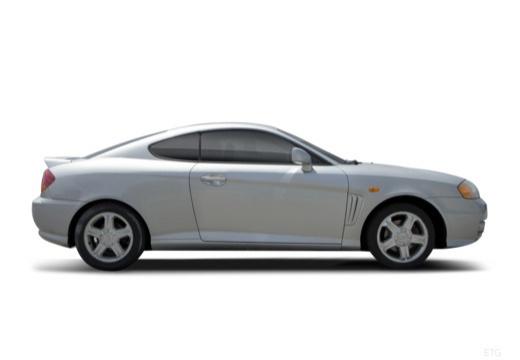 HYUNDAI coupe silver grey boczny prawy