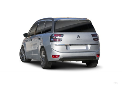 CITROEN C4 Picasso C4 Grand Picasso III kombi silver grey tylny lewy