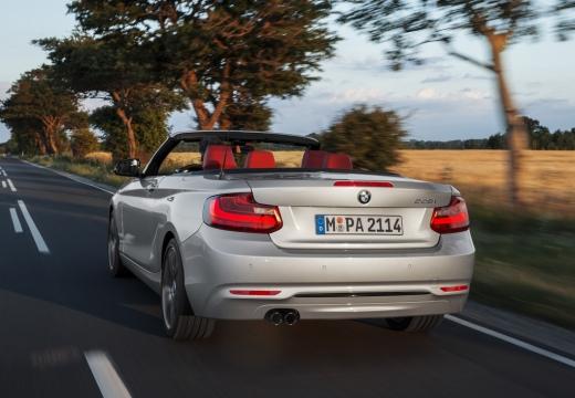 BMW Seria 2 Cabrio F23 I kabriolet silver grey tylny lewy