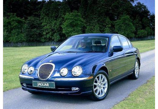 JAGUAR S-Type I sedan niebieski jasny przedni lewy