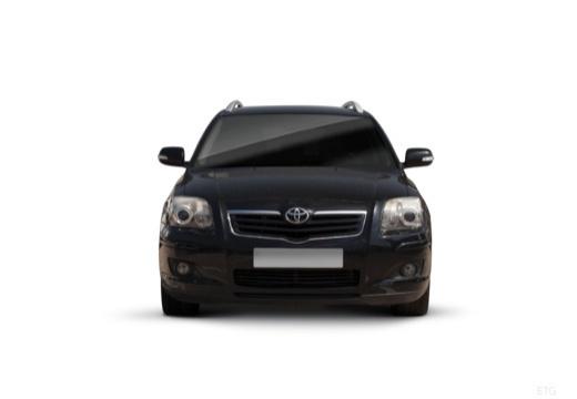 Toyota Avensis IV kombi czarny przedni