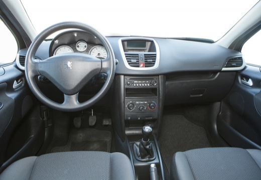 PEUGEOT 207 II hatchback tablica rozdzielcza