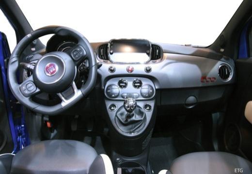 FIAT 500 kabriolet tablica rozdzielcza