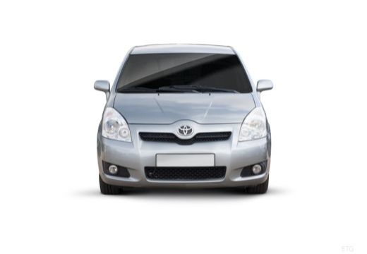 Toyota Corolla Verso III kombi mpv silver grey przedni