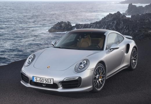 PORSCHE 911 991 I coupe silver grey przedni lewy