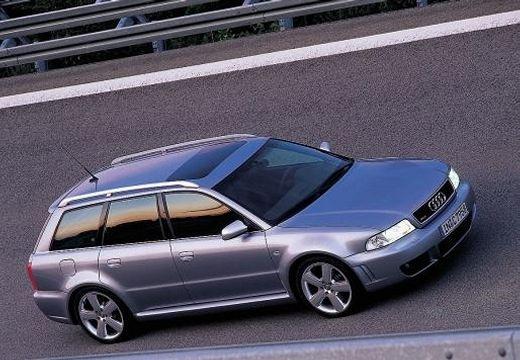 AUDI A4 Avant B5 kombi silver grey przedni prawy