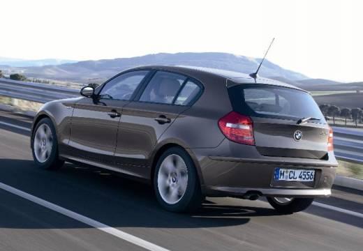 BMW Seria 1 E87 II hatchback brązowy tylny lewy