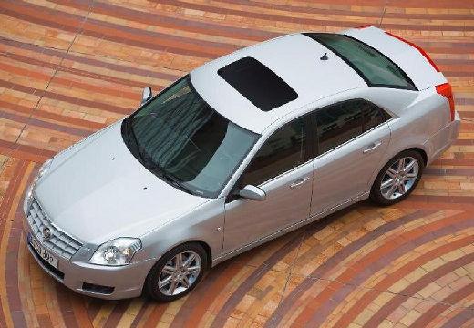 CADILLAC BLS I sedan silver grey przedni lewy