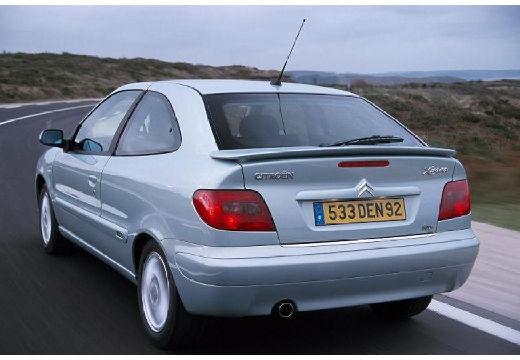 CITROEN Xsara II hatchback silver grey tylny lewy