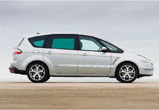 FORD S-MAX I van silver grey boczny prawy