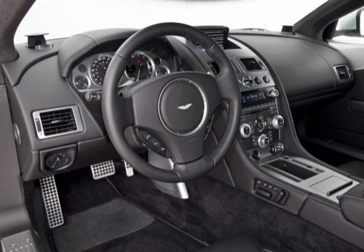 ASTON MARTIN DB9 Volante II kabriolet silver grey tablica rozdzielcza