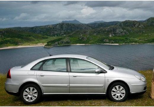 CITROEN C5 II hatchback silver grey boczny prawy