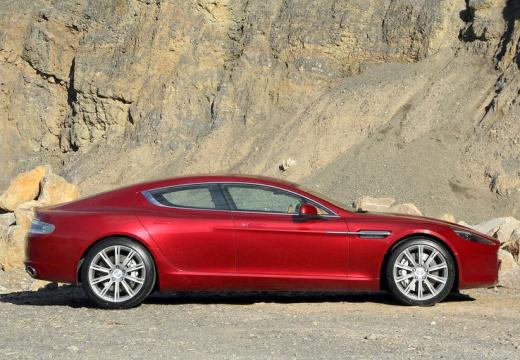 ASTON MARTIN Rapide I coupe czerwony jasny boczny prawy