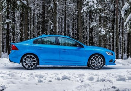 VOLVO S60 V sedan niebieski jasny boczny prawy
