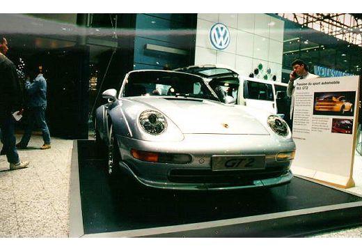 PORSCHE 911 coupe przedni prawy