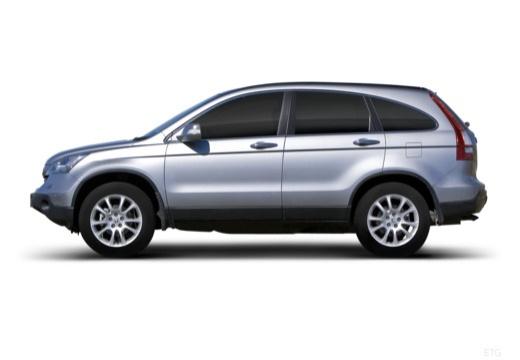HONDA CR-V V kombi silver grey boczny lewy