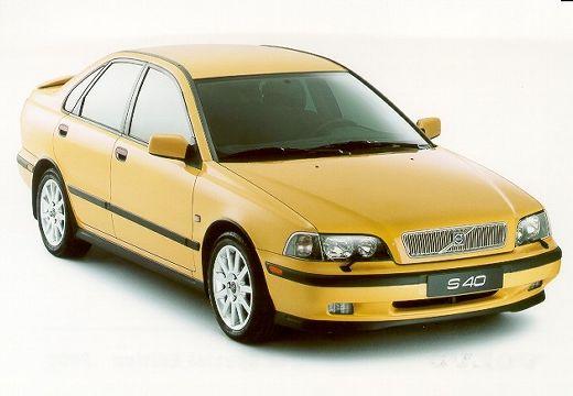 VOLVO S40 III sedan żółty przedni prawy