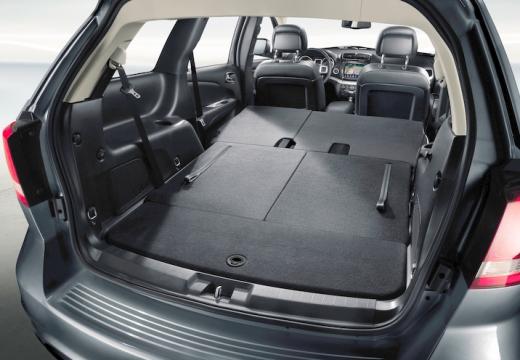 FIAT Freemont van przestrzeń załadunkowa