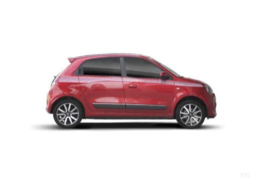 RENAULT Twingo hatchback czerwony jasny boczny prawy